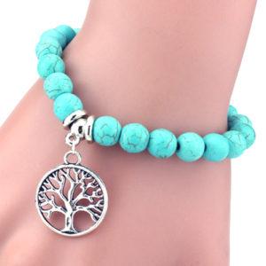Charm Turquoise Bracelet