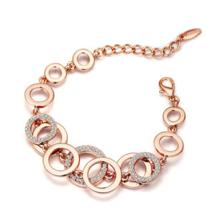 Double Layer Circles Bracelet