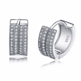 austrian-cubic-zirconia-hoop-earrings