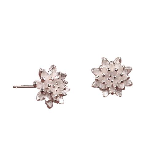 Flower Ear Stud Earrings