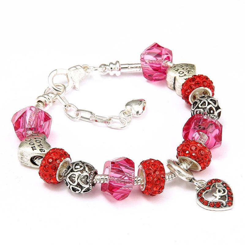 Mom's Heart Bracelet