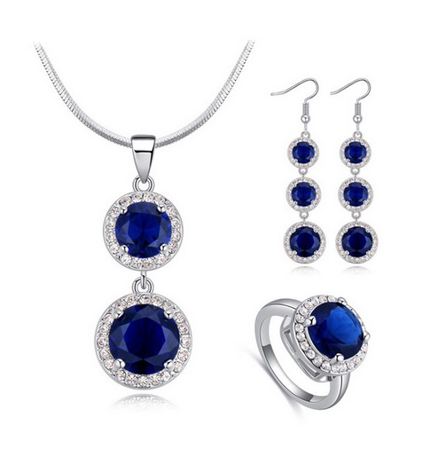 Pendant Necklaces Piercing Earrings and Ring