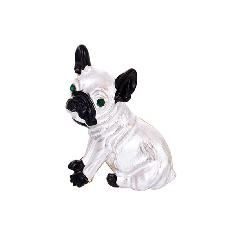 white-pug-dog-brooch-clothes-jewelry-accessory