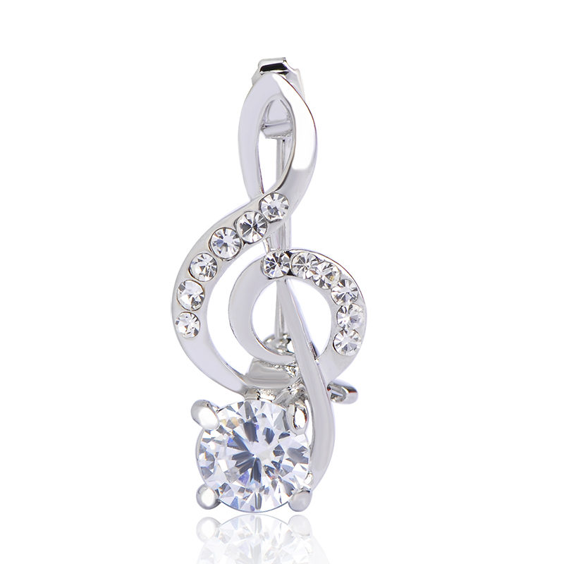 silver-treble-clef-brooch-cubic-zriconia-tin-alloy