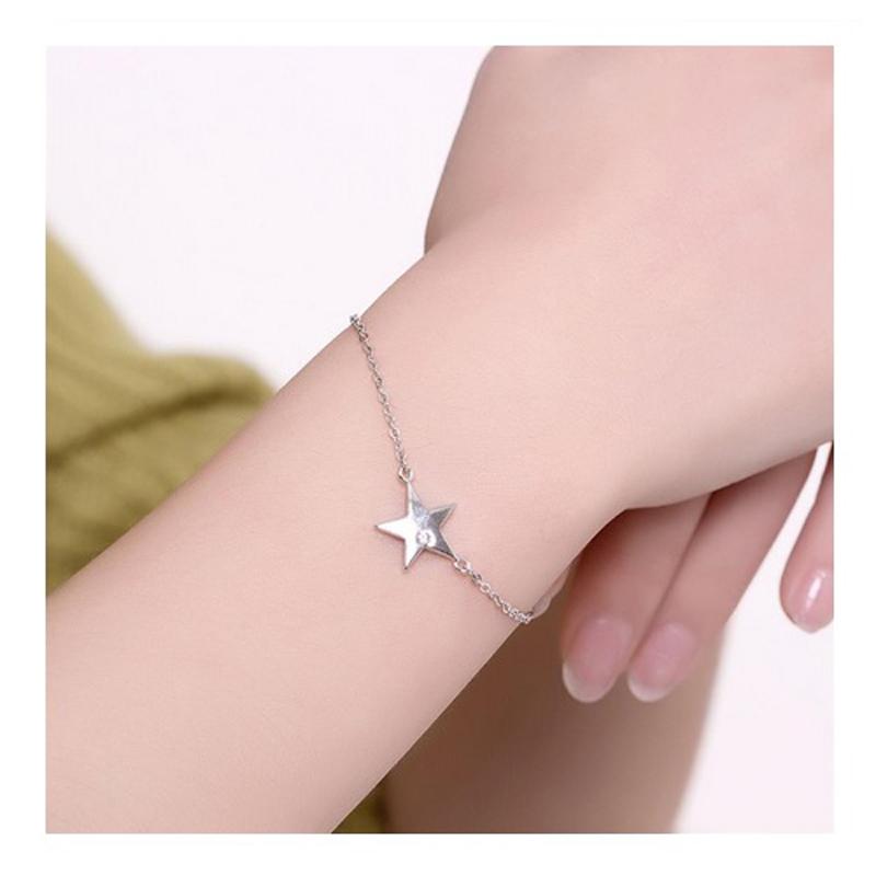 925-sterling-silver-chain-cz-pendant-star-bracelet