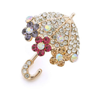 Multi-Color-Crystal-Umbrella-Brooch-for-Women