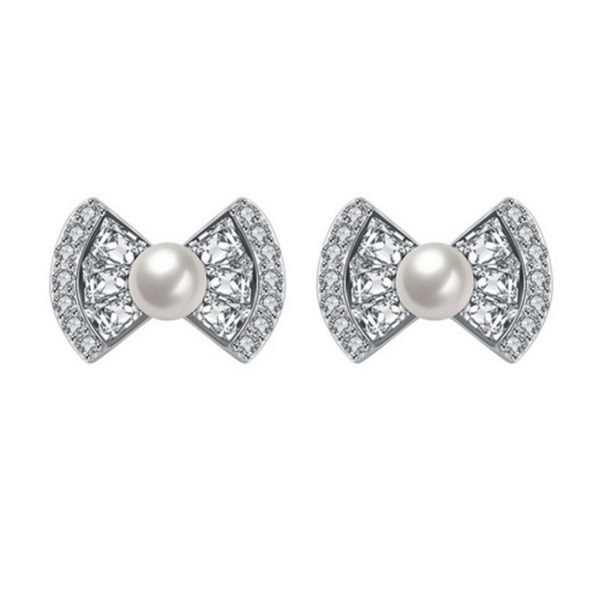 Bow Tie Stud Earrings