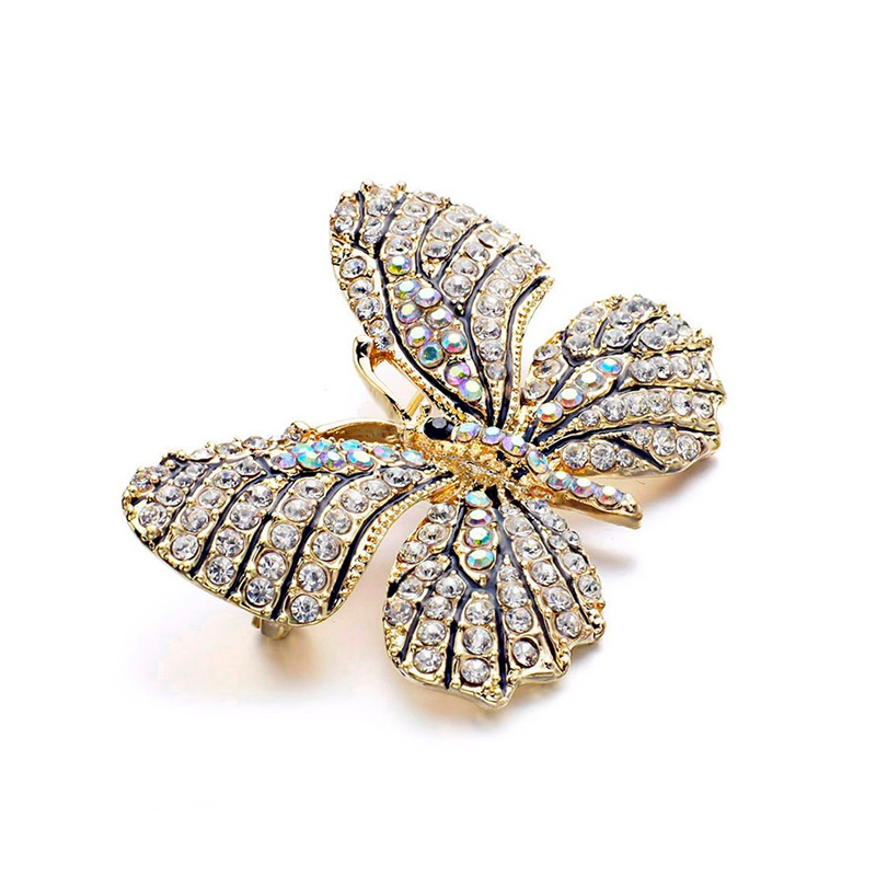 butterfly-multi-color-rhinestones-brooch