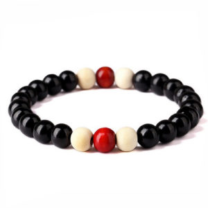 Wooden Bracelet Yoga Beaded Stretch