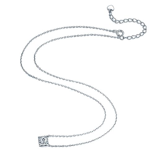 cz 925 pendant necklace
