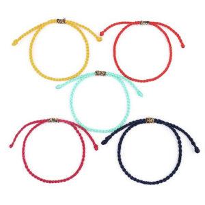 Handmade Lucky Braided Bracelet