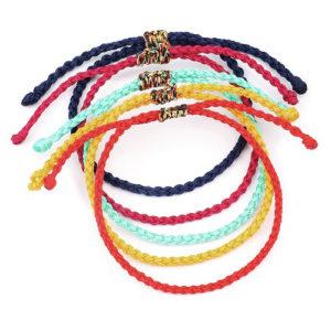 Lucky Braided Bracelet Rope Bracelet