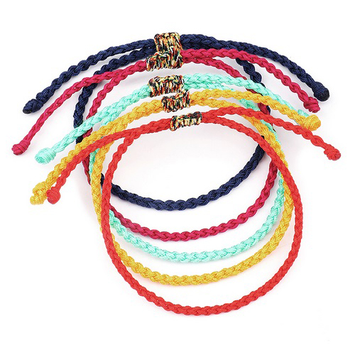 Lucky Braided Bracelet Rope Bracelet