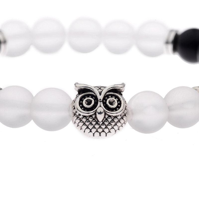 a-silver-jade-onyx-beaded-stretch-charm-owl-bracelet