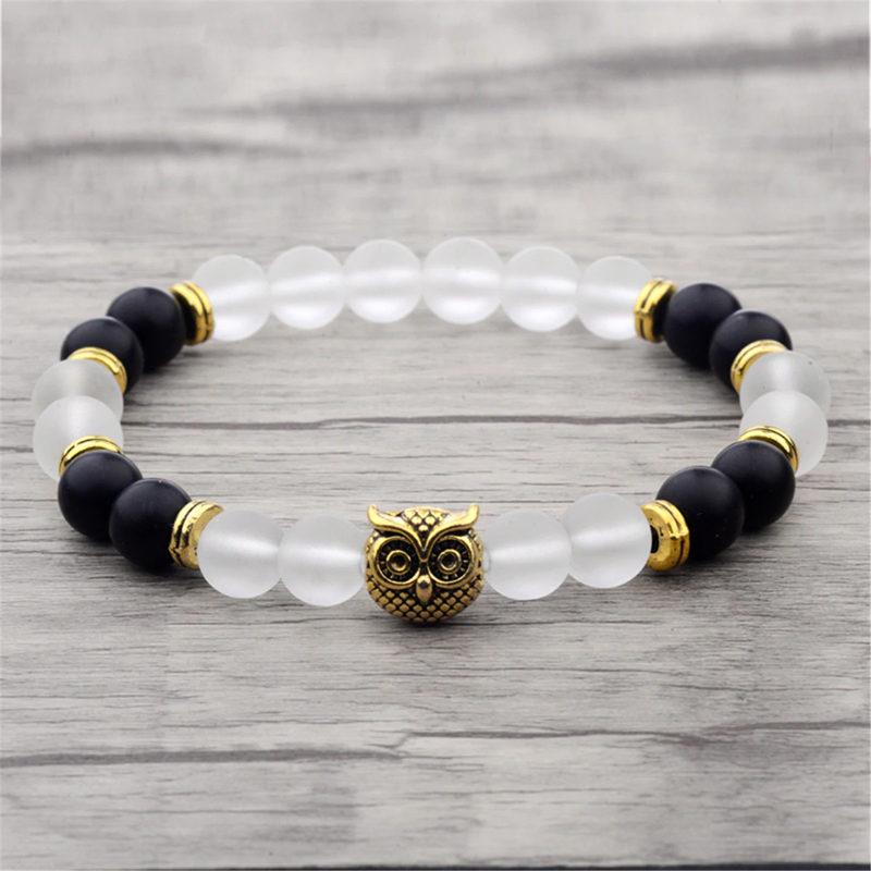 c-gold-owl-bracelet-onyx-jade-beaded-stretch-charm