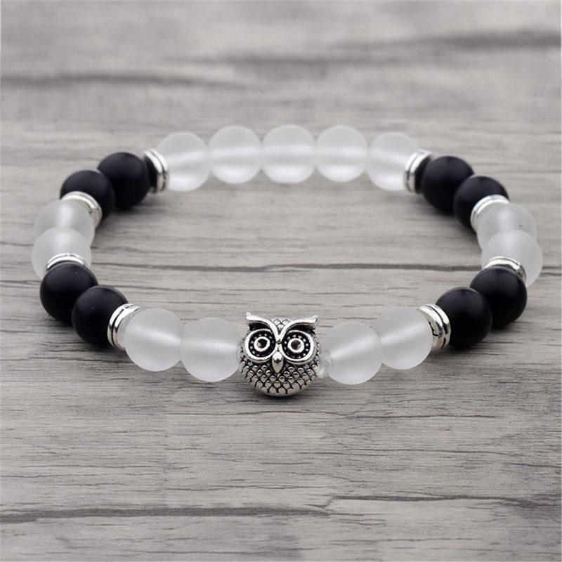c-silver-owl-bracelet-onyx-jade-beaded-stretch-charm