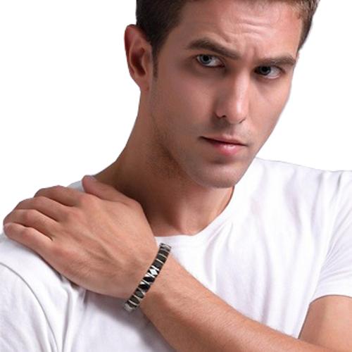 Hematite Ceramic Healing Magnetic Bracelet