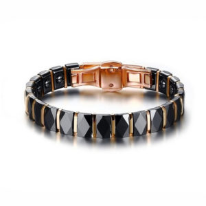Hematite Ceramic Magnetic Bracelet