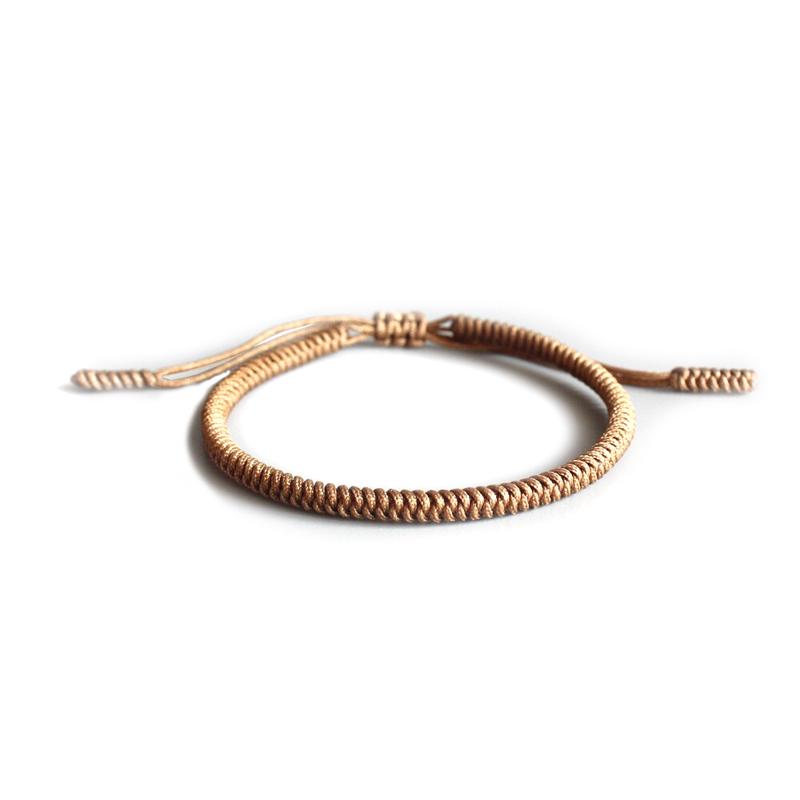 beige-tibetan-handmade-bracelet-lucky-knot-adjustable