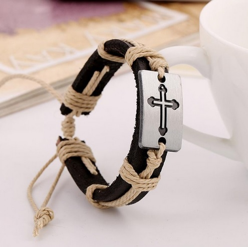 cross-leather-knot-bracelet
