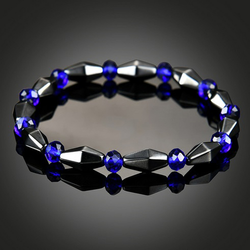 hematite-crystal-beaded-magnetic-stretch-bracelet