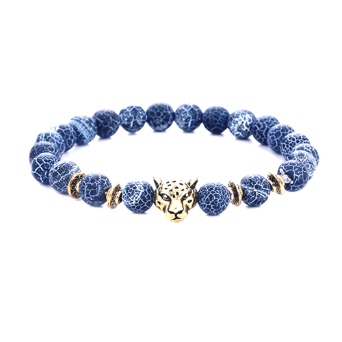 Leopard's Head Bracelet