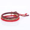 Tibetan Lucky Knot Bracelet Handmade Adjustable