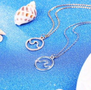 ocean-wave-gold-silver-pendant-necklace