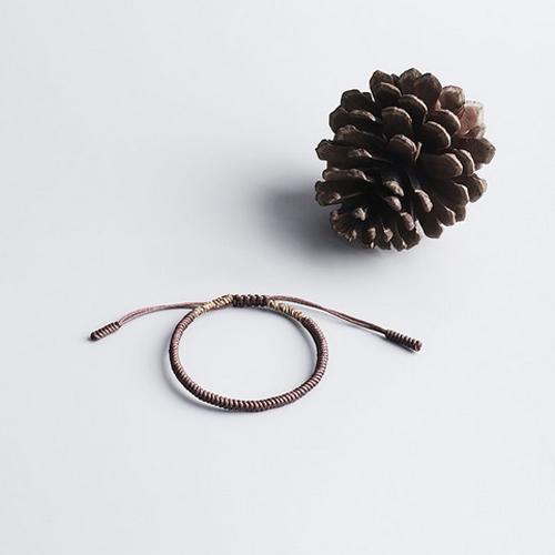 tibetan-adjustable-brown-handmade-lucky-knot-bracelet