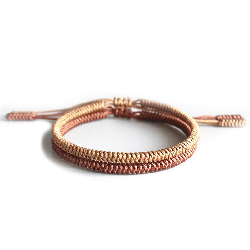 Tibetan Handmade Bracelet Lucky Knot Adjustable