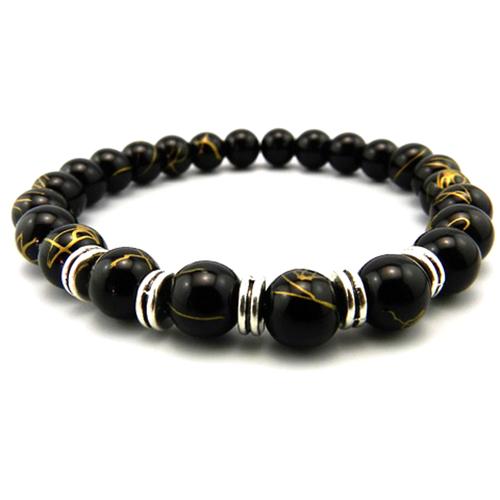 Painted Onyx Bracelet