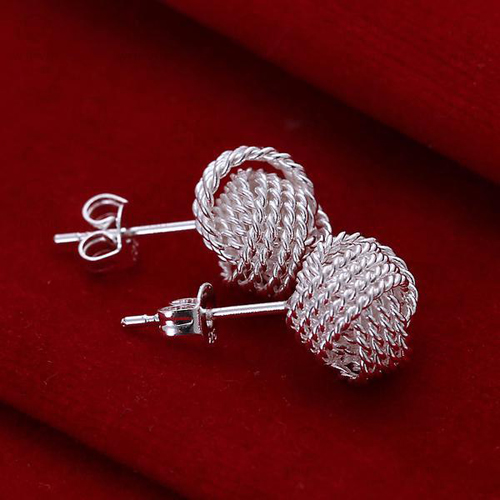silver-weaved-stud-earrings