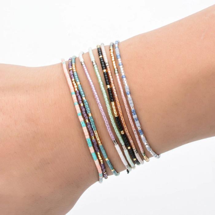 Miyuki Round Seed Beads Beaded Friendship Bracelet