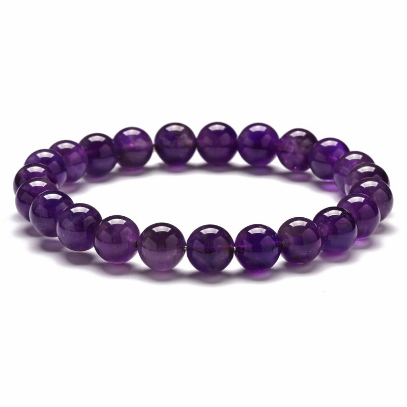 8mm-amethyst-bracelet-beaded-custom-size-stretch