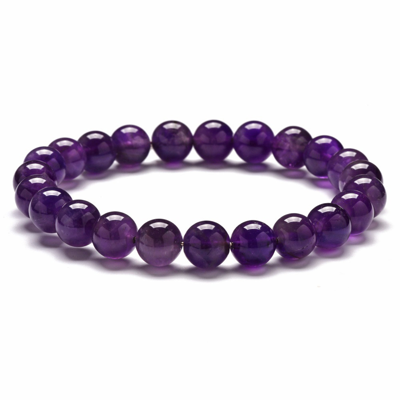 8mm-amethyst-bracelet-beaded-custom-size-stretch