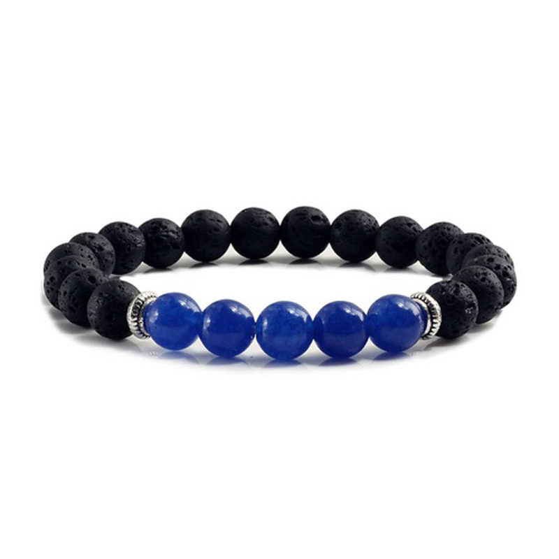 blue-chalcedony-chakra-bracelet-volcanic-bead-charm-stretch