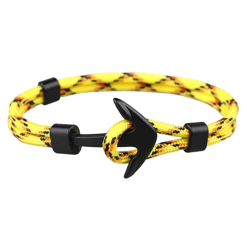d-army-bracelet-doubled-cord-anchor-charm