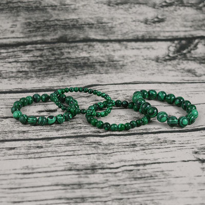 natural-stone-green-malachite-beaded-yoga-bracelet-stretch