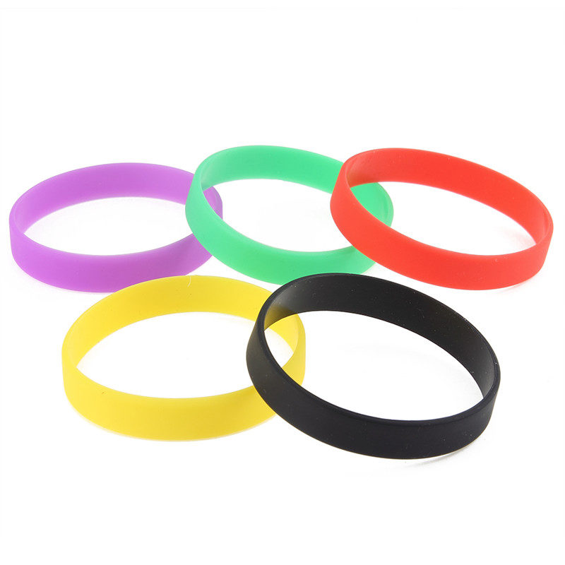 silicone-bracelet-multi-color-flexible