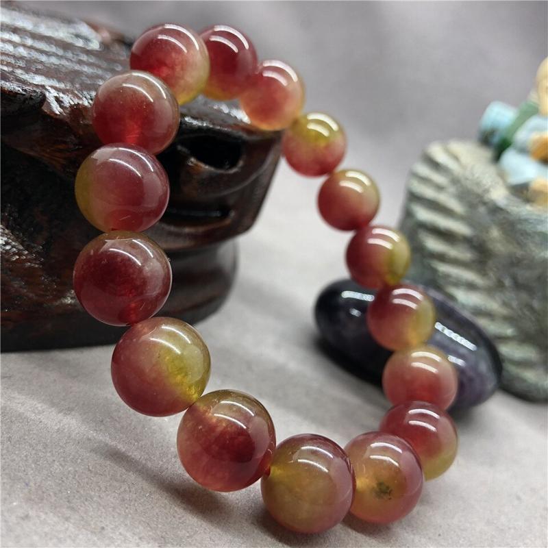 watermelon-tourmaline-bracelet-stretch-beaded