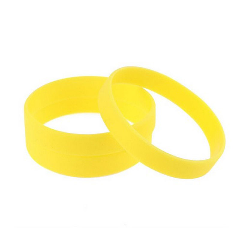 yellow-silicone-bracelet-flexible