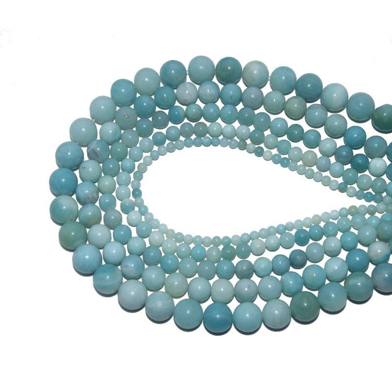 Amazon Stone Natural Bracelet Beads