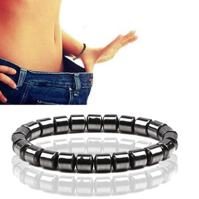 bullet-shape-beads-hematite-stone-stretch-bracelet