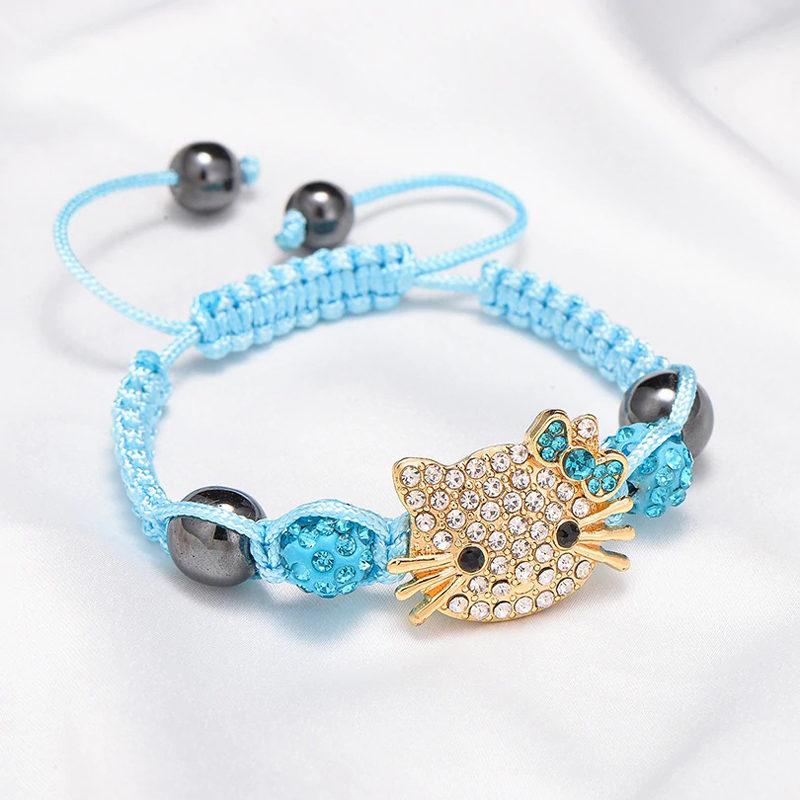 crystal-hematite-sliding-knot-hello-kitty-cz-bracelet