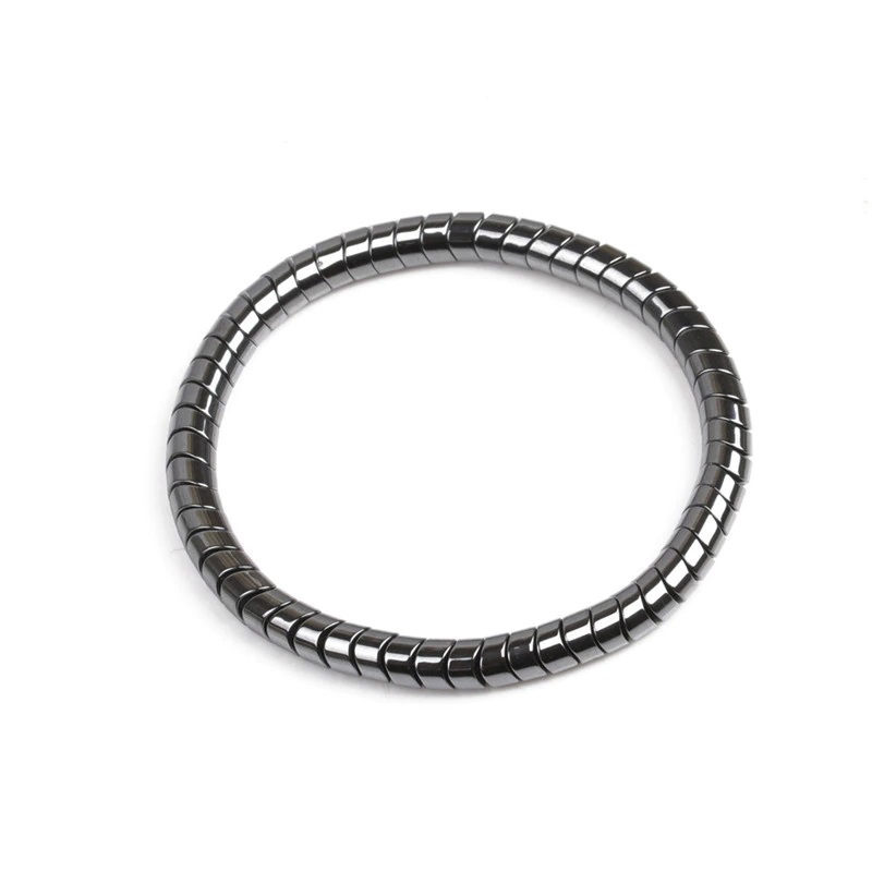 Hematite Bracelet Weight Loss Snake Shape