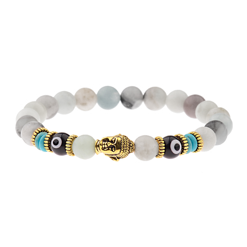 multi-color-amazonite-evil-eye-buddha-bracelet-charm-beaded-stretch-shakra