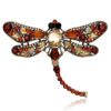 brown-vintage-dragonfly-brooch-pendant-necklace-pin