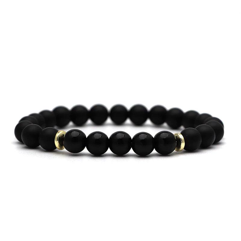 beaded-charm-stretch-bracelets-natural-multi-stones-matte-black-onyx-black-onyx