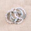 bracelets-howlite-beads-quartz-agate-charm-stretch