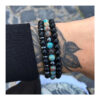 c-mens-bracelet-sets-beaded-stretch-charm-leather